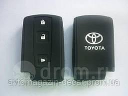 Чехол на пульт сигнализации силиконовый Toyota 1019  (2320)