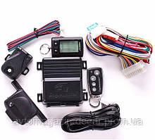 """Сигнализация 2way  """"Eaglemaster""""  E-4 - Диалоговый код /2 брелка/LCD дисп/без сирены/турботаймер"""