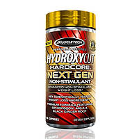 Жиросжигатель MuscleTech Hydroxycut Hardcore Next Gen non-stim 150 капсул (4384301070)