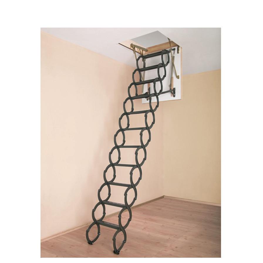 Лестница чердачная металлическая LST 70х120 см