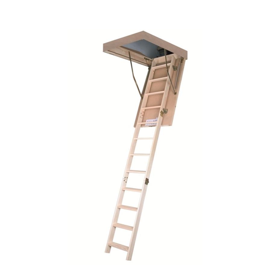 Лестница чердачная деревянная LWS 70х130 см