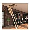 Лестница чердачная деревянная LWS 70х130* см, фото 2