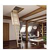 Лестница чердачная деревянная LWK3 60х120 см, фото 4