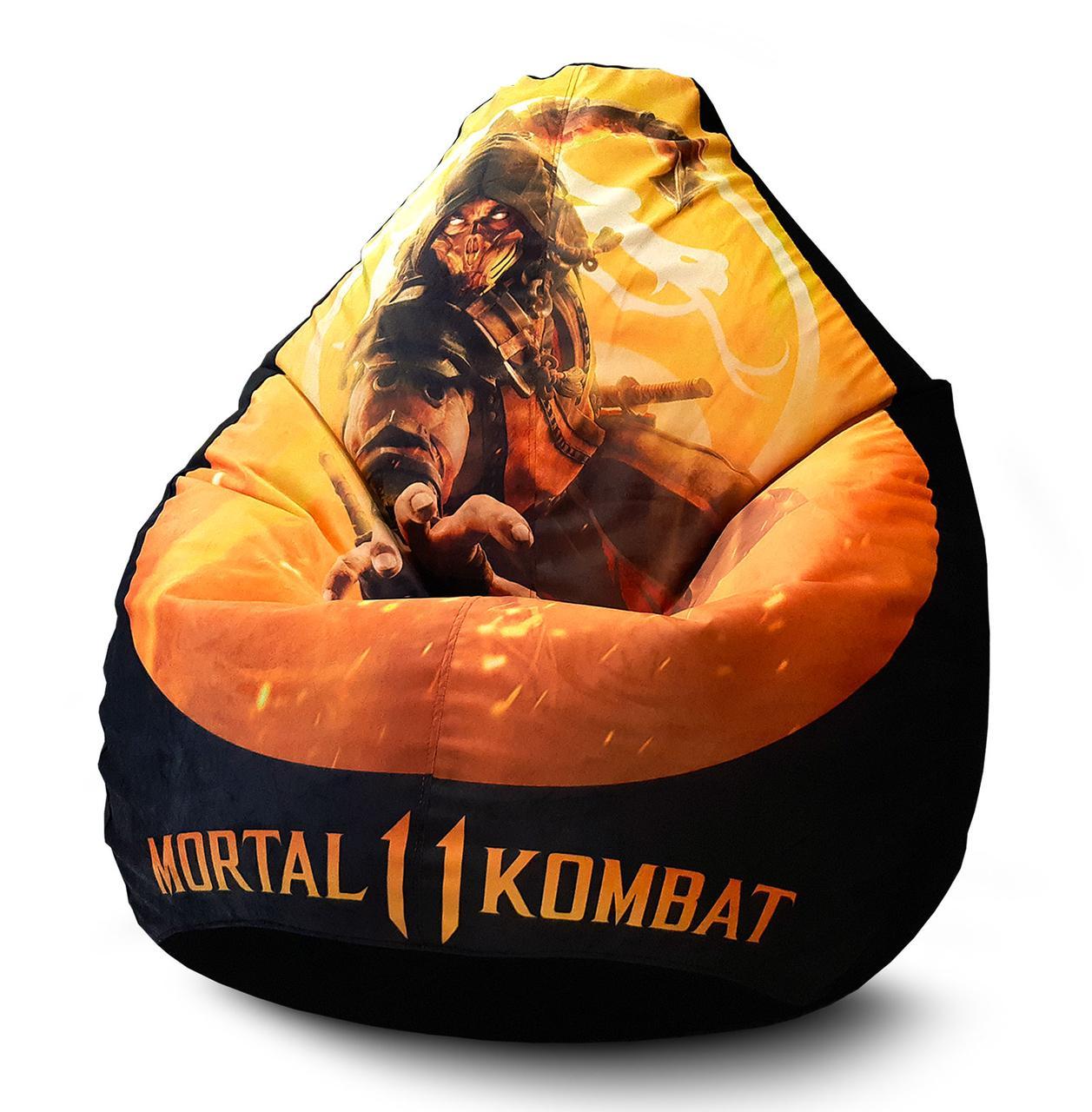 """Кресло мешок """"Mortal Kombat"""" Флок"""