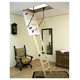 Чердачная лестница высокая Termo Long деревянная