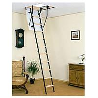 Лестница чердачная Mini комбинированная 100 х 70 см
