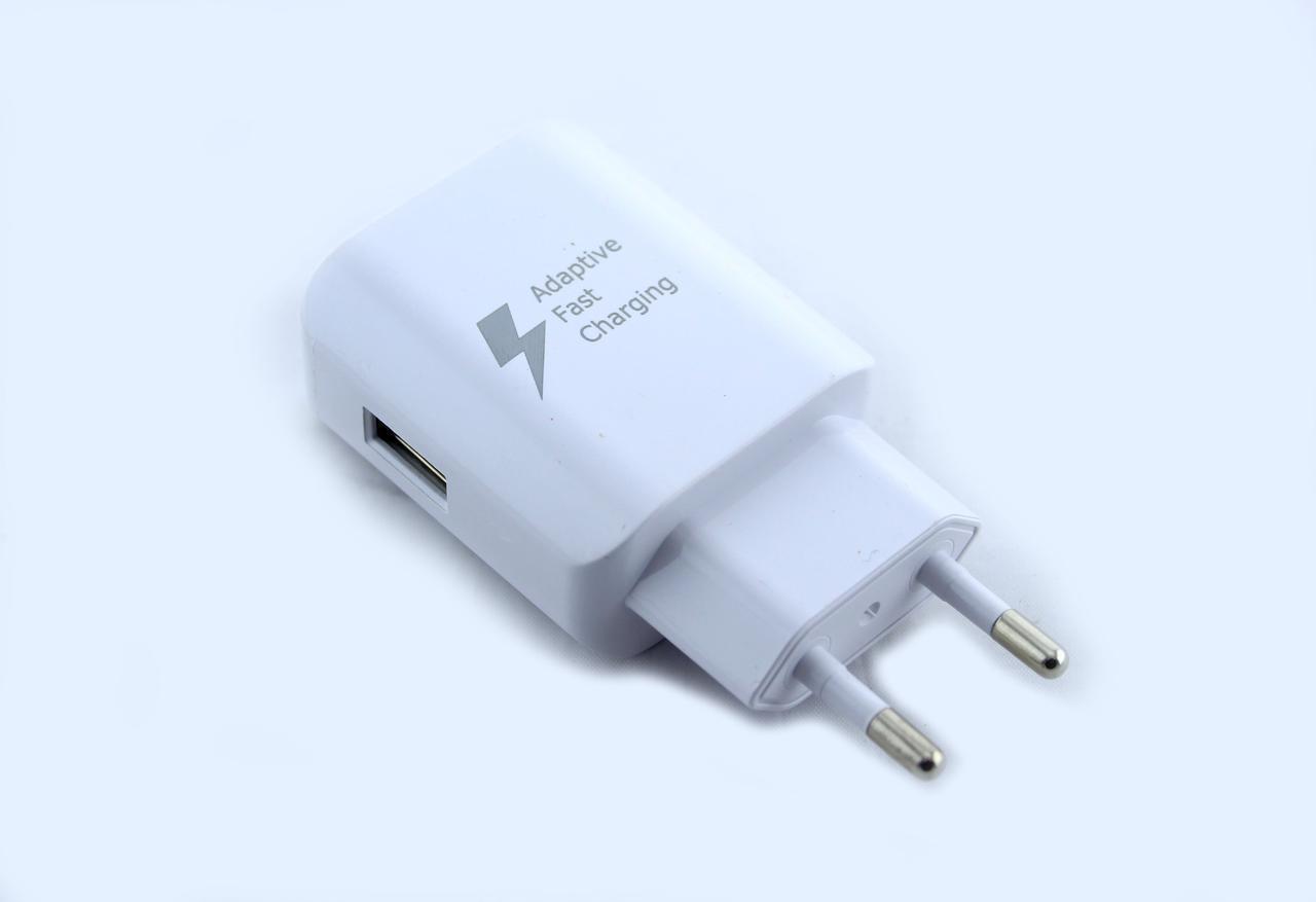 "Адаптер зарядка 220V на USB Fast Charge D5   ""Fast "" белая"