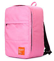 Рюкзак для ручной клади PoolParty HUB (розовый) - Ryanair / Wizz Air / МАУ