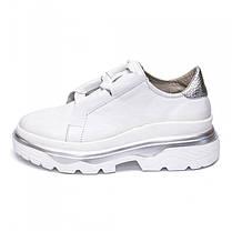 Кроссовки массивные белые 931-01, фото 3