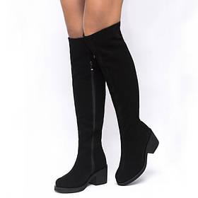 Ботфорты со шнуровкой сзади 021-33 Размеры 36-41 37