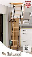 Чердачная лестница Bukwood Luxe Metal Mini 90x60, 90x70, 90x80, 90x90, 100x60, 100x70, 100x80, 100x90