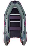 Моторно-килевая лодка Вулкан TMK330 зеленая