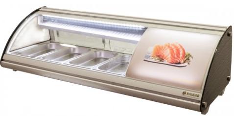 Холодильна вітрина для суші Rauder LSK-43L