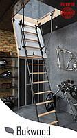 Чердачная лестница  Bukwood Luxe Metal ST 120x60, 120x70, 120x80, 120x90, 130x60, 130x70, 130x80, 130x90