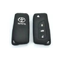Чехол на пульт сигнализации силиконовый Toyota 1030  (2325)