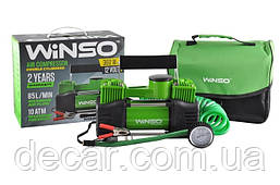 "Компрессор - два цилинд - ""Winso"" 125000 - 12v - 360вт - 85л - 10атм - 30А (с дефлятором)   (8шт/ящ)"