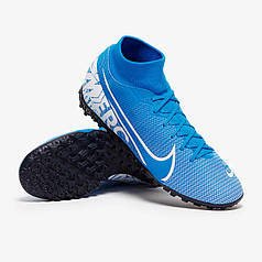 Сороконожки Nike MercurialX SuperflyX 7 Academy TF AT7978-414 (Оригинал)