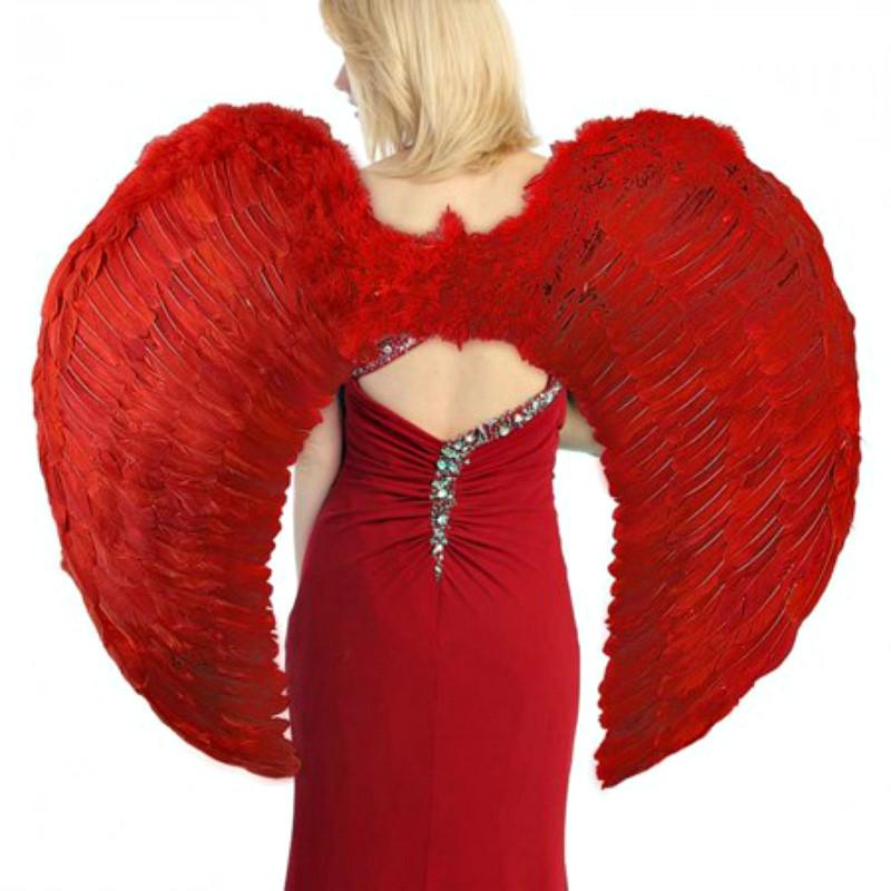 Крылья Ангела Супергигант 80х95 см (красные)