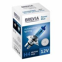 """Лампа 12V H4  60/55W 4200K Power Blue """"Brevia"""" (1шт)  (12040PBC) (10шт/уп)"""