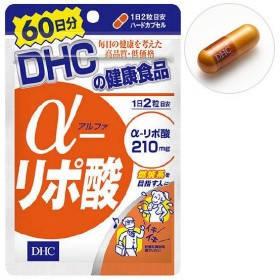 DHC Альфа-ліпоєва кислота, 210 мг у кожній капсулі, 120 капсул на 60 днів