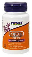 Жиросжигатель NOW 7-KETO 100 mg Veg Capsules 30 капсул (4384301173)