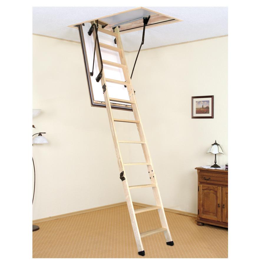Чердачная лестница Polar деревянная