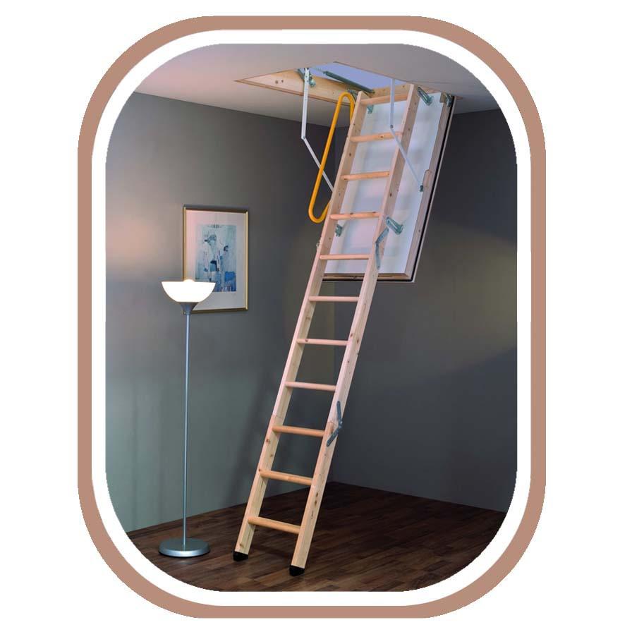 Чердачная лестница Minka Polar мега утепленная 120 х 60 см