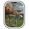 Металлическая лестница на второй этаж Rondo Zink Plus Минка Австрия, фото 4
