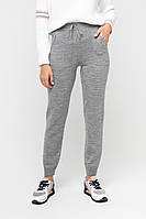 Серые теплые штаны (46-48, серый)