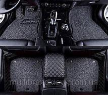 Коврики Комплект Ворс Пвх Toyota Land Cruiser 200 7 мест 2016