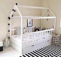 Домик кровать с боковым входом +ящики №2 160х80