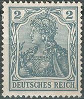 Германия 1902 Sc#65C