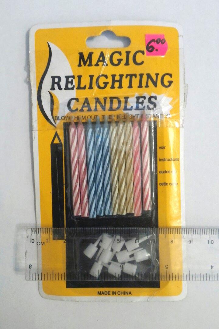 """Свечи в торт (маленькие)  10 свечей  """"china"""""""
