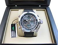 Часы военные водонепроницаемые 10 ATM AMST 3003 (Кварц) Silver/Black. ОРИГИНАЛ 100% МОЖНО ПЛАВАТЬ!