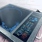 Электроплита инфракрасная Domotec MS 5842 | Кухонная плита, фото 2