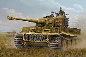 Pz.Kpfw. VI Tiger I. Сборная модель немецкого танка в масштабе 1/16. HOBBY BOSS 82601