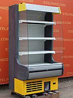 Холодильная горка (Регал) «Росс Modena» 1 м. (Украина), прозрачные боковые стекла, Б/у, фото 1