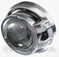 "Линза биксенон 3'(D75 мм)  H1(адаптеры Н4/Н7)  ""Fantom"" (A5) SO18YX08 (1шт)   (9мес.гарантии)"