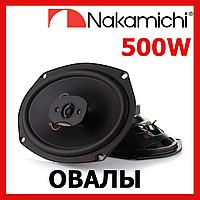 Автомобільна акустика Nakamichi NSE-6917 Овали в авто 500Вт