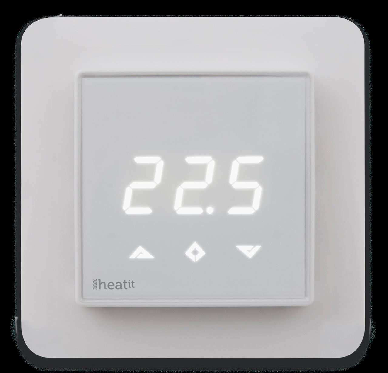 Z-TRM2fx, Z-Wave терморегулятор Heatit з лічильником електроенергії, білий