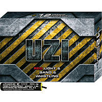 Петарда фитильная с тройным эффектом UZI 12 штук