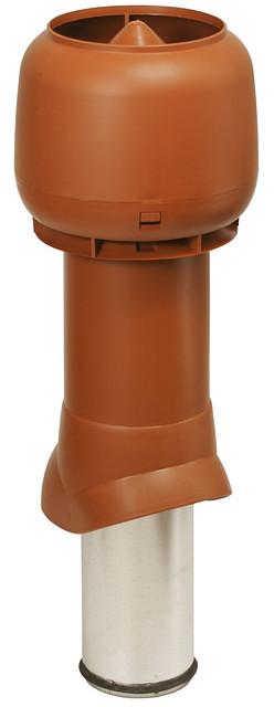 Вентиляционные выходы кухонных вытяжек и вытяжной вентиляции высота 125/500