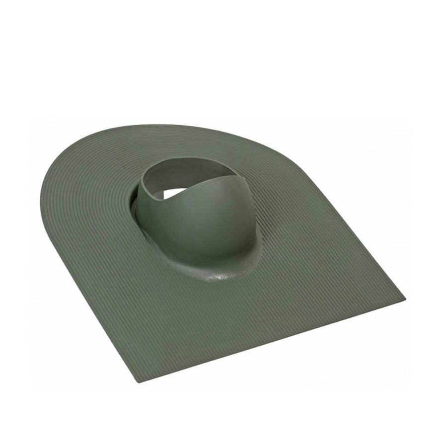 Проходной элемент VILPE Huopa для монтажа на наклонной битумной кровле труб, вентиляторов диаметром 110-160 мм