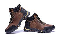 Мужские зимние кожаные ботинки Jack Wolfskin Outdoor Olive, фото 1