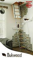 Чердачная лестница Bukwood Compact Metal ST 110x60, 110x70, 110x80, 110x90, 120x60, 120x70, 120x80, 120x90
