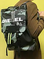 Мужской рюкзак DIESEL Volpago, Рюкзак для путешествий, Hовинка 2019!
