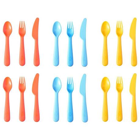 СОММАР 2019 Столовый набор,18 предметов, разные цвета, 00419700, ИКЕА, IKEA, SOMMAR 2019, фото 2