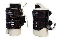 Гравітаційні інверсійні черевики Onhillsport NEW AGE, натуральна шкіра, пенолон, сталь, чорний (ОХ OS-0305)
