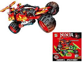 Конструктор Ninja: Кай на машине, 176 детали