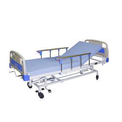 Кровать функциональная медицинская ЛФ-9 с гидравлическим подъемником (для лежачих больных, инвалидов)